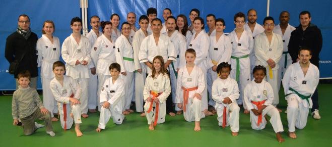 Stage de Taekwondo à Versailles